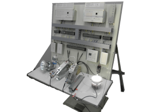 小型調光機検証盤(当社製)での点灯試験